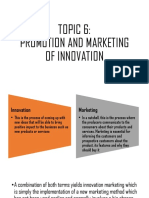 PROMOTION AND MARKETING OF INNOVATION.pptx