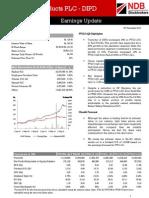 DIPD Earnings Update