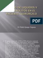 MANEJO DE LIQUIDOS Y ELECTROLITOS EN EL PACIENTE