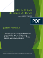 PROTOCOLOS DE LA CAPA ENLACE DE DATOS
