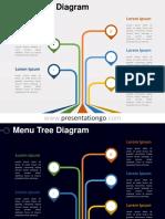 Menu-Tree-PowerPoint-Diagram-PGo