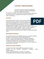 ENFERMEDADES DE PIEL Y PARTES BLANDAS
