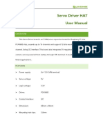 Servo Driver HAT User Manual En
