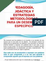 Diapositivas Didáctica y Metodología