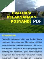 Evaluasi Penyelenggaraan Posyandu di Kalsel 2019