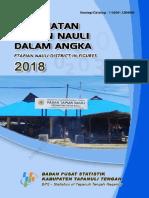 Kecamatan Tapian Nauli Dalam Angka 2018