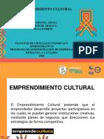 EMPRENDIMIENTO CULTURAL 2020.pptx