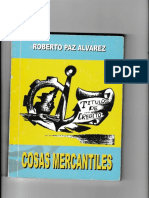 LIBRO COSAS MERCANTILES ROBERTO PAZ ALVAREZ