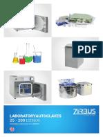 Zirbus_Laboratory_Autoclaves 25-200 Liter Español