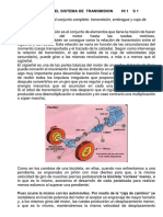 GENERALIDADES DEL SISTEMA DE  TRANSMISION        HI 1    S 1