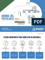 Manual del Postulante Final 2020-1 - Nueva Línea Gráfica _VF