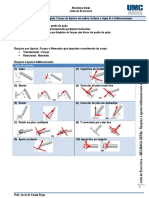 Lista-03-Equilibrio de Apoios Bi e tridimensionais
