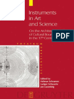 Helmar Schramm, Ludger Schwarte, Jan Lazardzig (eds.) - Instruments in Art and Science De Gruyter