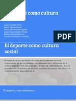 El deporte como cultura social