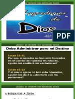 ECR-LECCION 2 ELCREYENTE COMO MAYORDOMO DE DIOS.PPT
