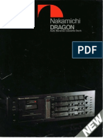Nakamichi DRAGON Cassette Deck