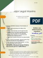 ISF2102_1st maxim