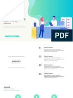 Health care pharmacy service Free powerpoint template - PPTMON