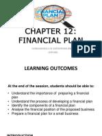 C12 Financial Plan