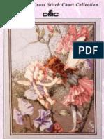 DMC, Cross Stitch - the Flower Fairies, The Sweet Pea Fairies