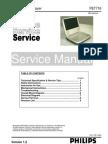 PHILIPS PET716 SERVICE MANUAL