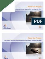 CATIA V5 - Race Car Project
