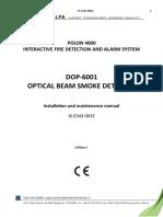 Manual de Instalare Bariera IR DOP 6001_ENG