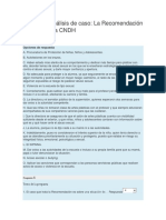 Actividad Análisis de caso - La Recomendación 69-2013 de la CNDH