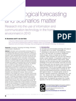 article Bouwman Van der Duin Technology forecasting and scenarios matter