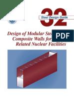 AISC Design Guide 32 - Design of modular Steel-Plate Composite Walls.pdf
