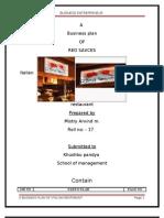 Final Business Plan