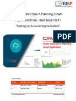 Oracle Sales Planning Cloud Implementation Hand Book Account Segmentation