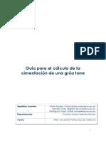 Guía para el cálculo de la cimentación de una grúa torre.pdf