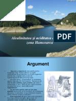 proiect alcalinitate si aciditate