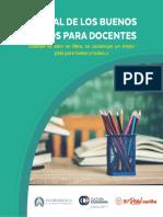 Manual de Los Buenos Tratos Para Docentes Por Cultura Ciudadana