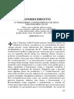 27_Teologia concisa_Conhecimento