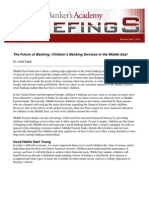 Childrens Banking Services in the Middle East