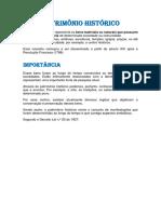 PATRIMÔNIO HISTORICO DE SÃO JOAO DO RIO DO PEIXE