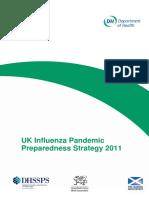 UK Influenza Pandemic Preparedness Strategy 2011