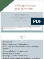 Climate Change Finance