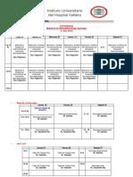 Cronograma Final MaestrÃ_a en NeuropsicologÃ_a  2º año 2019