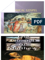 Mathew to Acts