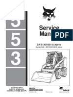 Bobcat 553 Service Manual SN 513011001-Above Europe Only_SN 513031001-Above
