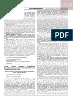 Resolución N° 011-2020-MP-FN-JFS
