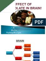 effect of chocolate on brain..