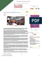 Bolivia confirma que rupturas democráticas son golpes