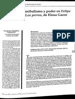 Violencia Canibalismo y Poder en Felipe