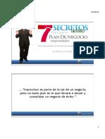 7  Secretos del Plande Negocios Emprende