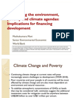 Integrating the environment, poverty and climate agendas