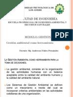 II. ELABORACION DE LA GESTION AMBIENTAL